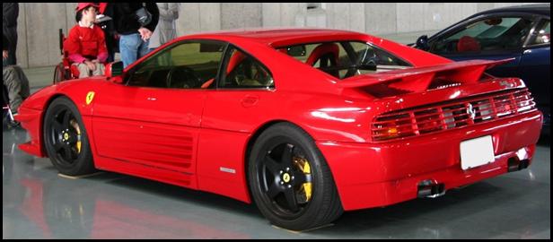 フェラーリ348のモデルと買取相場