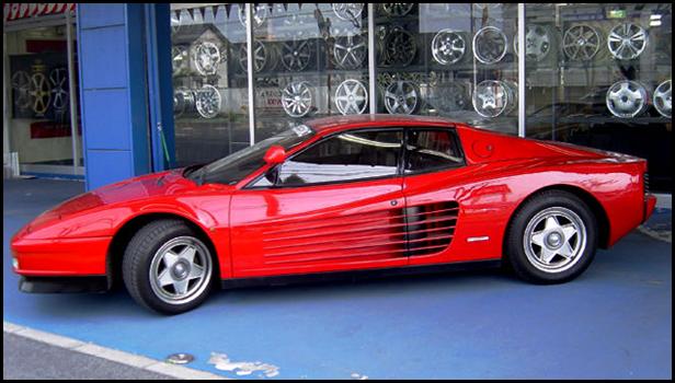 360モデナのオープンカー仕様